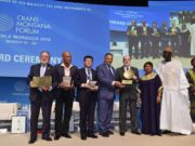Speaker of ECOWAS Parliament Moustapha Cissé Lo Honored at Crans Montana Forum