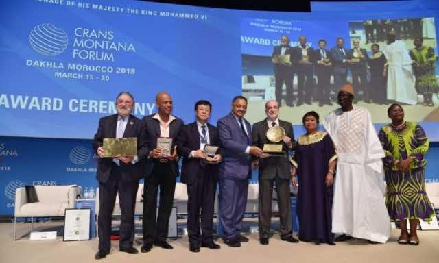 Speaker of ECOWAS Parliament Moustapha Cissé Lo Honored at Crans Montana Forum