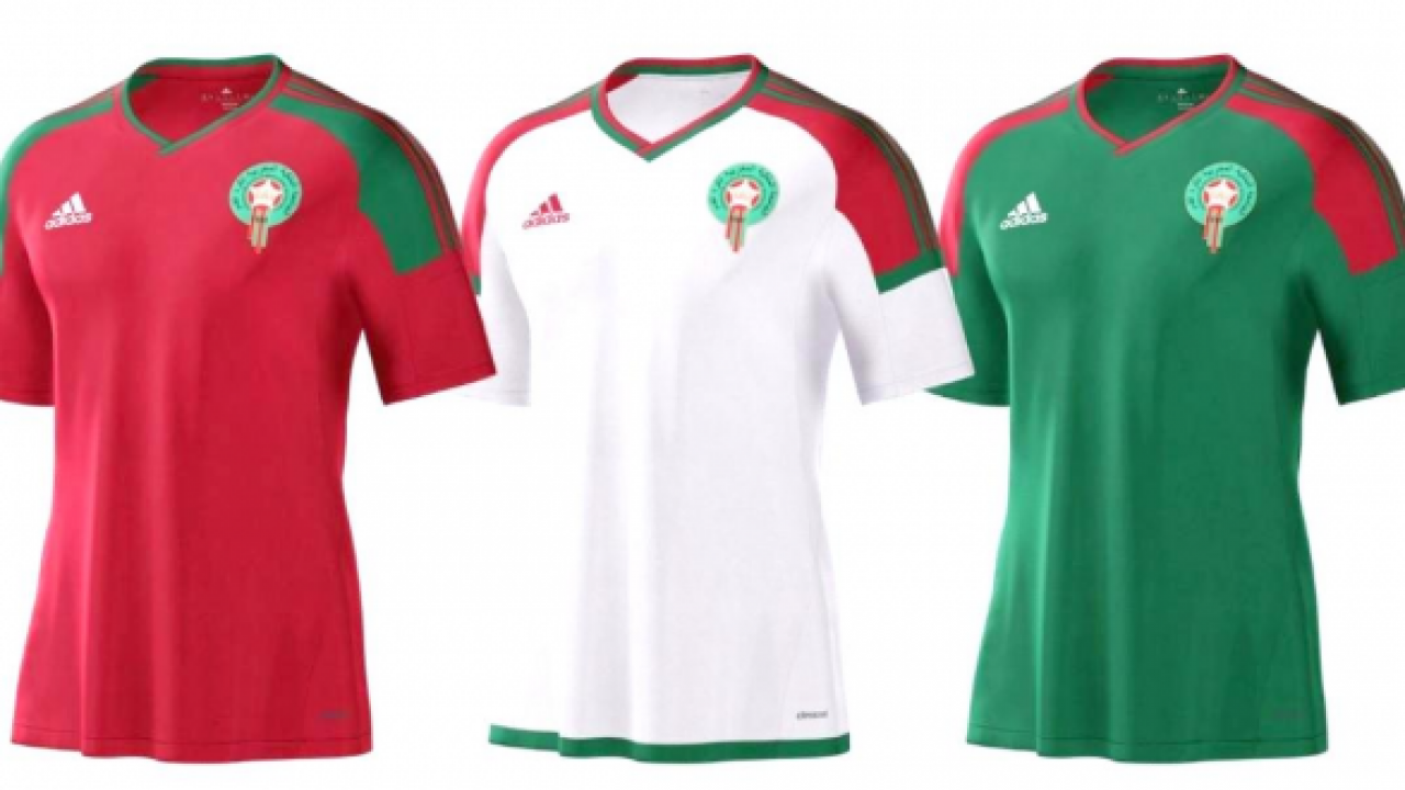 3922f813102 Adidas Delays Morocco s FIFA World Cup Kits To  Avoid Forgery ...