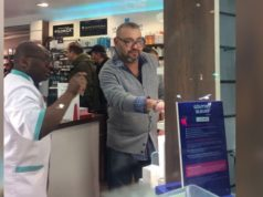 King Mohammed VI Photographed in a Parisian Pharmacy