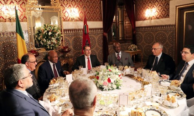 King Mohamed VI Hosts Dinner in Honor of Malian Prime Minister
