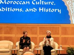 Moroccan History: Lalla Joumala and Christine Lagarde Chair Ceremony in Washington