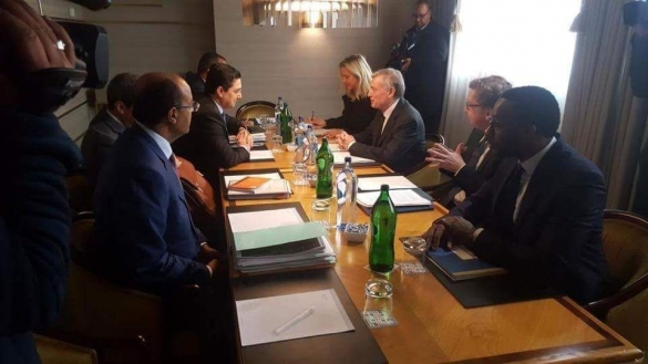 Bilateral Talks Between UNSG Personal Envoy and Moroccan Delegation Continue