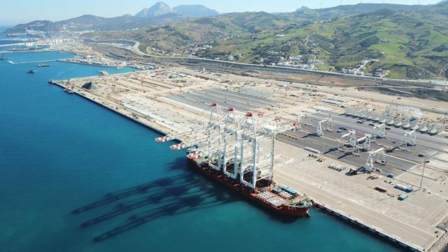 World's Largest Container-Handling Cranes Arrive on Tangier Coast