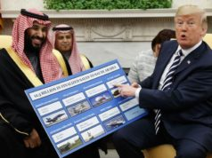 Donald Trump and Mohamed Bin Salman