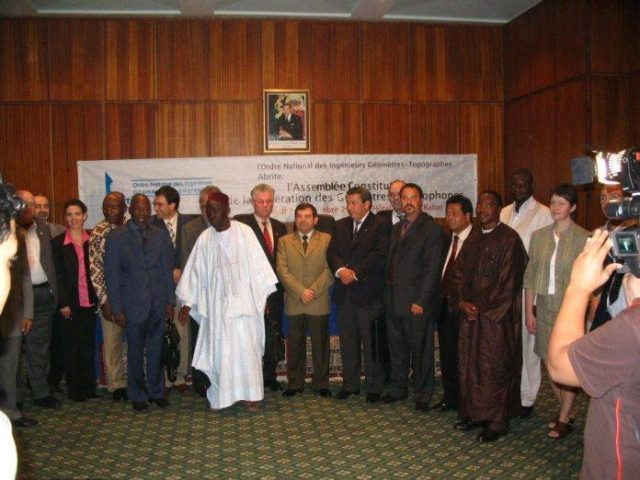 Morocco Elected SG of Federation of Francophone Surveyors