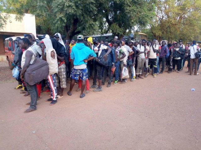Furious, Deported Malian Migrants Stone Algeria's Embassy In Mali