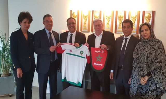 Morocco's 2026 World Cup Bid is impressing the world. After Russia, Serbia, and Luxembourg, President of the Belgian Football Federation Gerard Linard announced his country's intention to vote for Morocco's bid