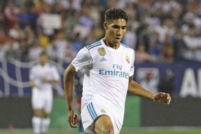 Hakimi Will Stay with Real Madrid: Zidane