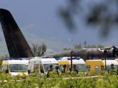 Algerian Plane Crashes, Passengers Include 26 Members of Polisario