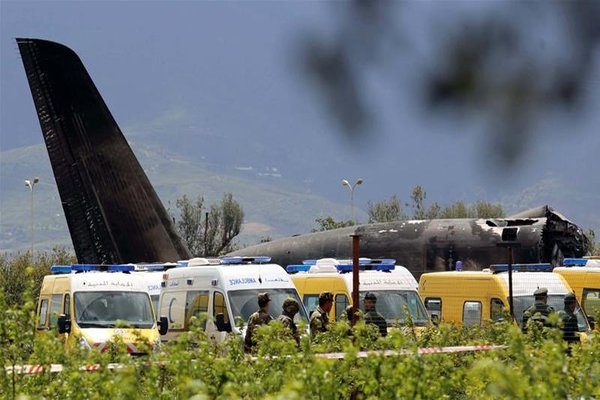 Algerian Plane Crashes, Passengers Include 26 Members of Polisario