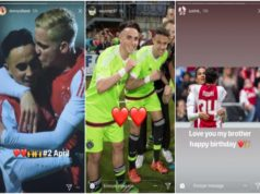 Teammates Celebrate Birthday of Amsterdam 'Ajax' Member Nouri After Hospitalization