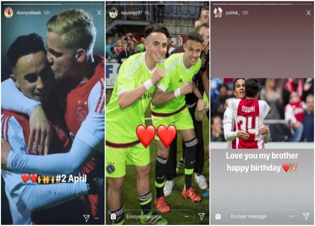 Teammates Celebrate Birthday of Amsterdam 'Ajax' Member Nouri After Hospitalization