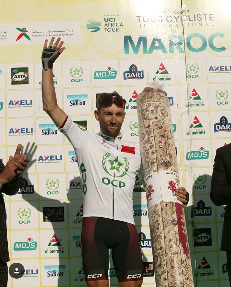 Brit Pedals Towards Victory in 6th Stage of 'Tour du Maroc'