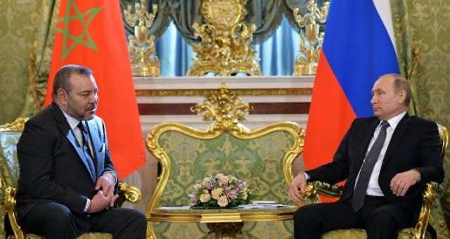 King Mohammed VI with Russian President Vladimir Putin. Valerian Shuvaez Appointed Ambassador to Morocco