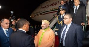 Moroccans in Congo Offer Warm Welcome to King Mohammed VI in Brazzaville