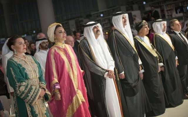 Lalla Hasnaa Represents King Mohammed VI at Qatar's National Library Opening