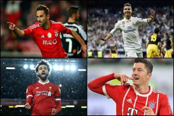 Europe's 2018 Top Scorers