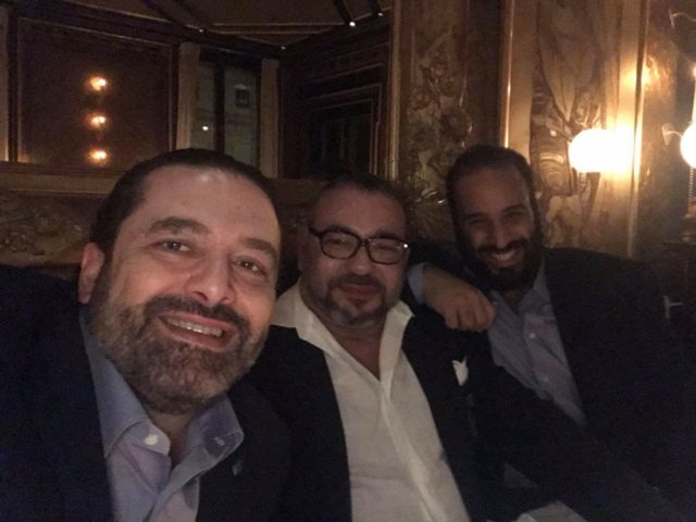 Picture of King Mohammed VI with Mohamed bin Salman in Paris Goes Viral