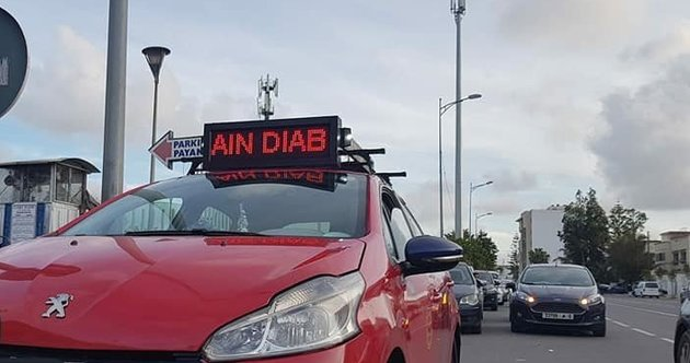 Casablanca's Taxicabs Installing LED Display to Show Destinations
