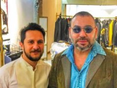 Photos of the Day: King Mohammed VI in Parisian Boutiques