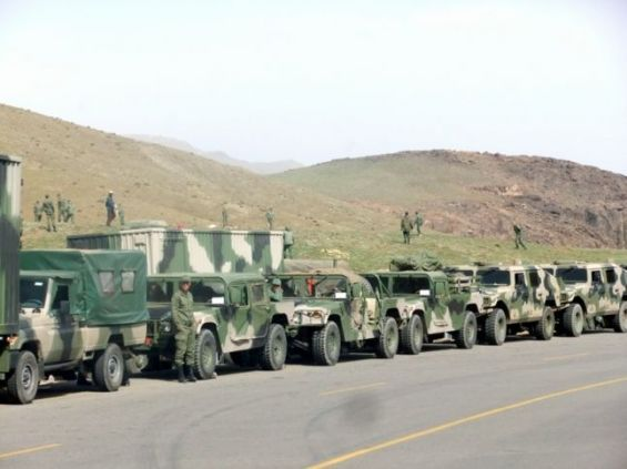 Military Convoys Depart to Southern Morocco to Repel Polisario's 'Provocations' in Buffer Zone