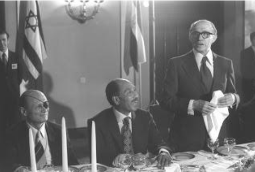 Sadat made a historic visit to Israel in 1977 and later on paid with his life