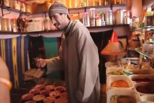 Moroccan Spice Seller Masters German Language