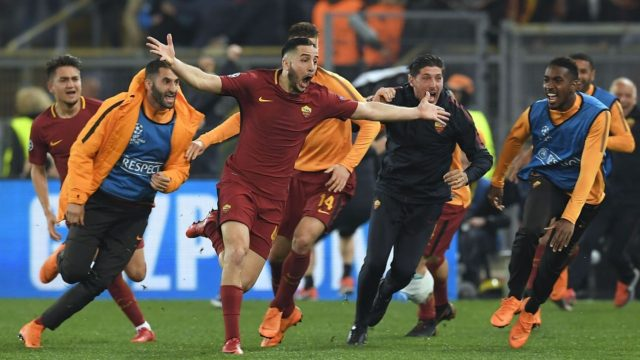 Roma Stun Barcelona In One of Football's Most Dramatic Comebacks
