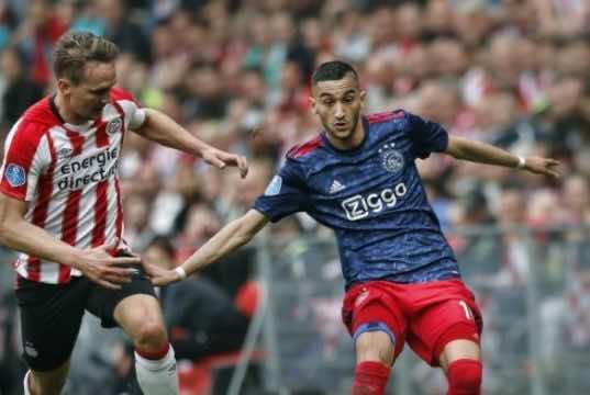 AS Roma Still Wants Moroccan Midfielder Hakim Ziyech