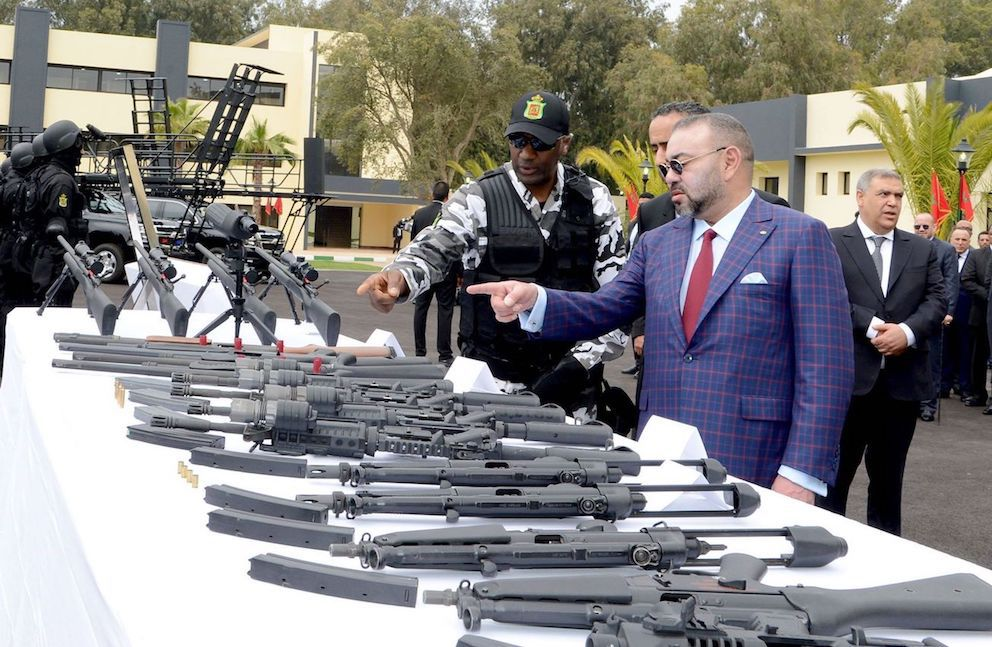 King Mohammed VI visits the DGST in Rabat