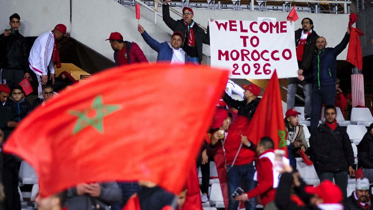 Morocco 2026 World Cup Bid. Morocco Nicola Campo  LightRocket via Getty Images