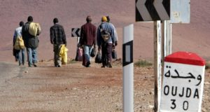 Morocco is a transit country for sub-Saharan migrants on their way to Europe