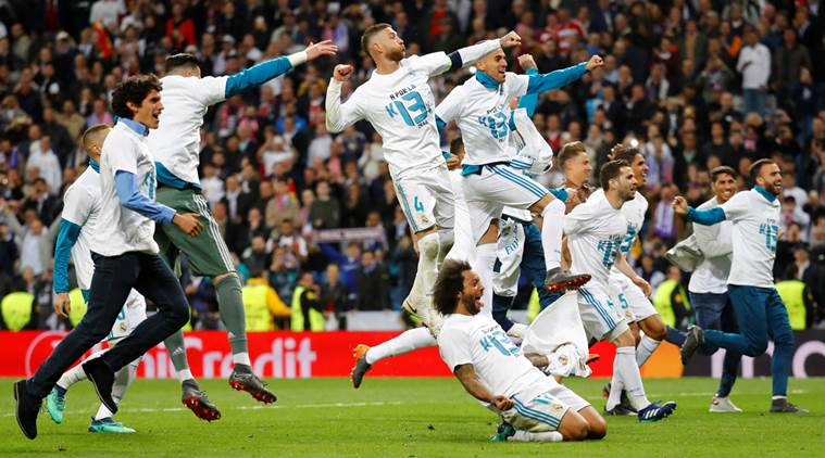 Champions League Real Madrid in Final for the Third Time in a Row