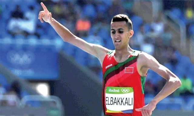 Morocco's Soufiane El Bakkali Wins 3,000m Steeplechase in Monaco