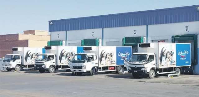Danone trucks