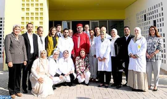 King Mohammed VI Inaugurates Medical Psycho-Social Center in Mediouna Province