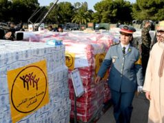 King Mohammed VI Sends Humanitarian Aid to Palestine