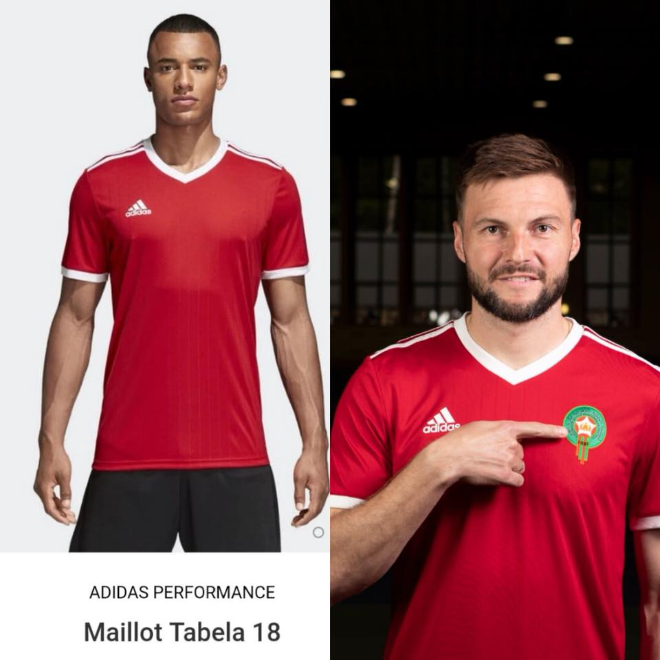 cd3ff64077e Moroccans Reject Adidas  2nd World Cup Jersey Design
