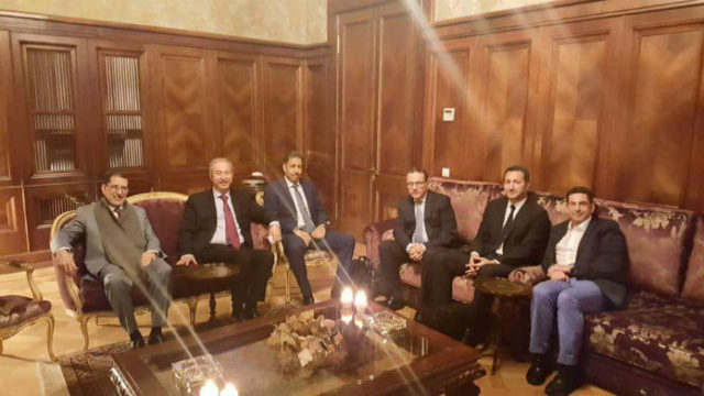 El Othmani Visits Moscow Embassy Ahead of World Cup 2018