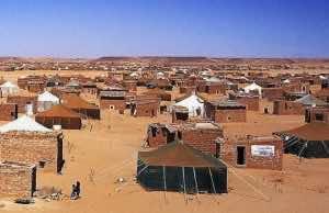 Sahrawis Protest Algeria, Polisario at Mijek MINURSO Headquarters