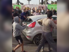 Video: Stolen Car Chased by Police on Tram Tracks in Rabat