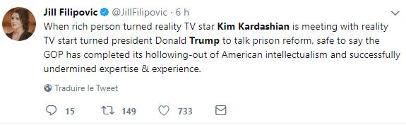 Kim Kardashian Criticized for Meeting Donald Trump
