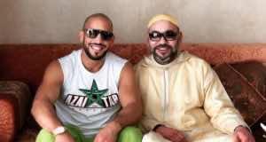 All Smiles, King Mohammed VI and Abu Bakr Azaitar Meet Again