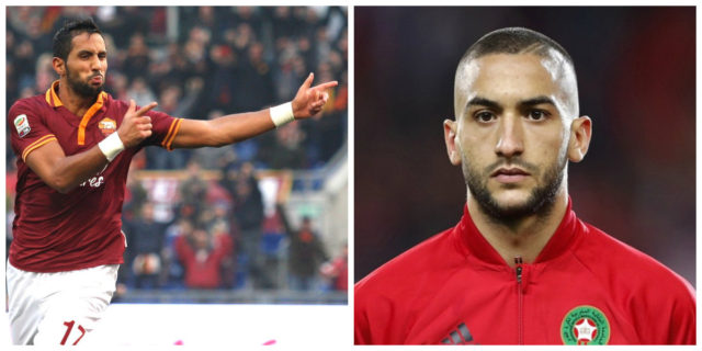 Highly Interested in Ziyech, AS Roma Calls Benatia for Advice