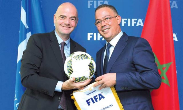 Lekjaa: Morocco Opens New Page with FIFA President Gianni Infantino