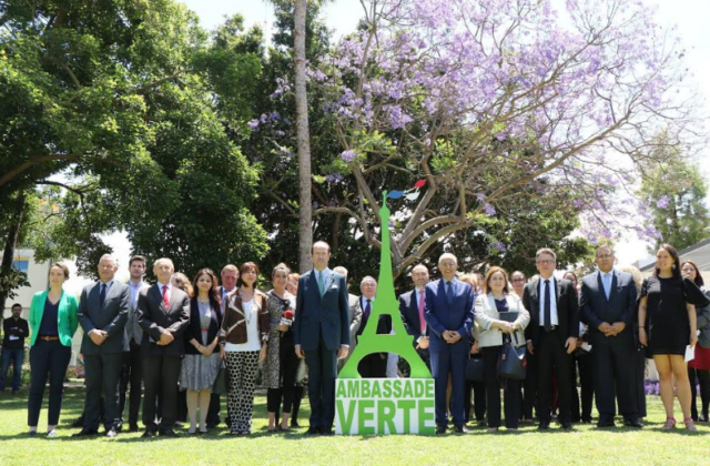 French Embassy Becomes 'Green Embassy' for World Environment Day