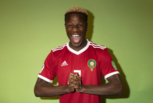 Morocco's Hamza Mendyl Apologizes After Insulting Fan