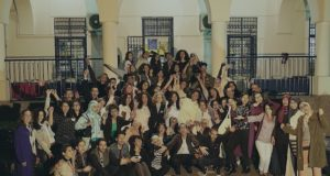 Moroccan Exchange Students Share Final Iftar at Dar America