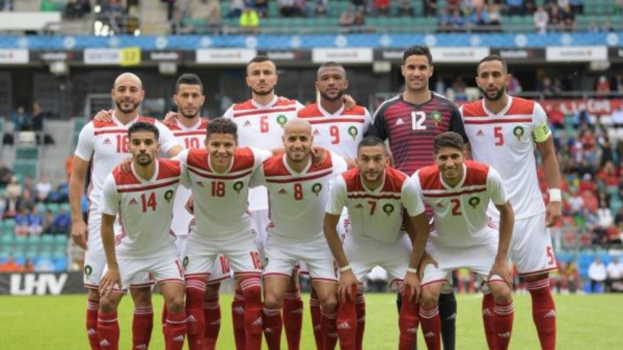 wholesale dealer 463e8 83f8d Moroccan National Football Team Arrives in Russia